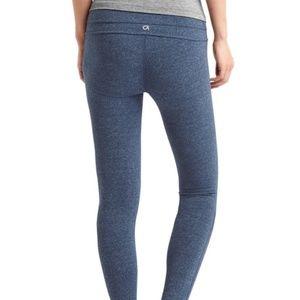 GAP Pants - GapFit gFast Cotton Leggings Indigo Heather L